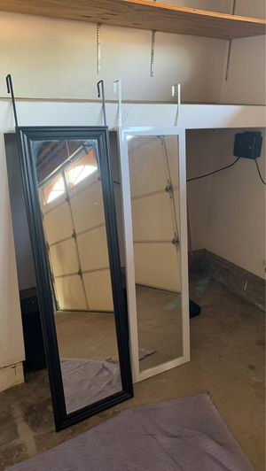 Free Two over the door mirror for Sale in Oceanside, CA