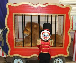 Circus/ Carnival Party Lion Cage (lion not included) for Sale in San Antonio, TX