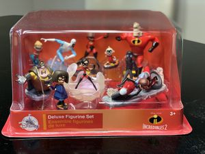 Disney Incredibles 2 Deluxe Figurine Set for Sale in Spring, TX