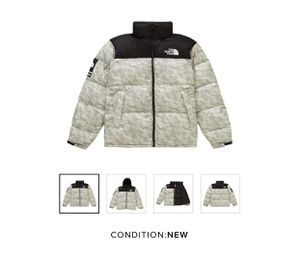 Supreme The North Face Nuptse Jacket Paper Print for Sale in Rowland Heights, CA