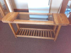 Glass entry table for Sale in Kent, WA