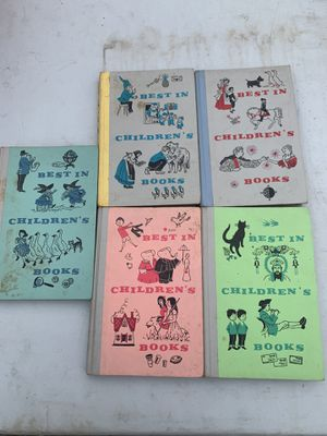 """Best in Children's Books"" by Nelson Doubleday Vintage 1957-1959 Lot of 5 for Sale in Blackstone, MA"