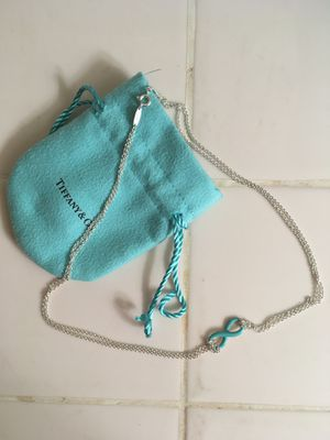 Tiffany's Infinity Necklace for Sale in Pasadena, CA
