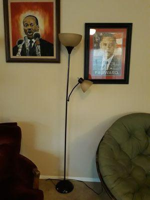 Tall floor lamp for Sale in Murrieta, CA