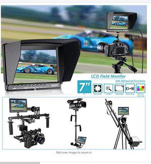 Neewer F100 7 inch HD screen for DSLR cameras CANON NIKON SONY ETC for Sale in Alexandria, VA