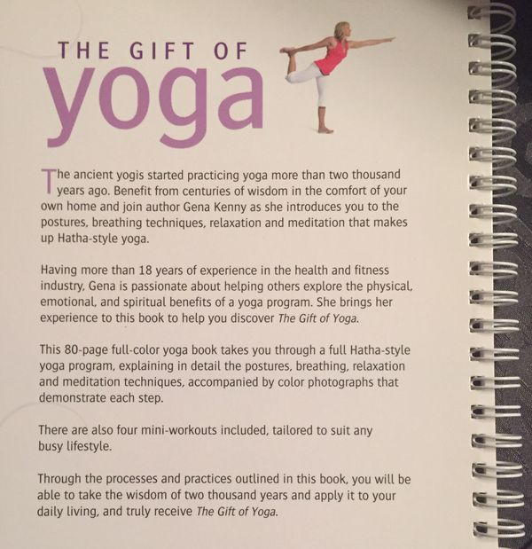 REDUCED~New The Gift of Yoga DVD and Book