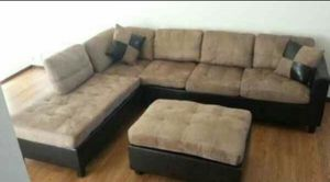 Microfiber sectional!!!! Today only $475!!! NEW for Sale in Chicago, IL