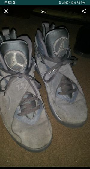Air jordan 8's cool greys for sale cash rn for 50$ steal size 10.5 for Sale in San Jose, CA