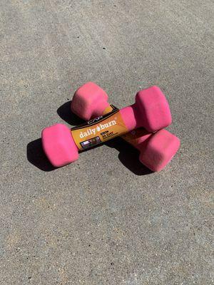 3 lb Neoprene Dumbbells for Sale in Coronado, CA