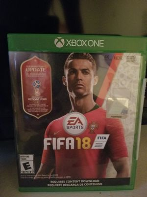 Fifa 18 and Call of Duty WW2 for Xbox One for Sale in Denver, CO