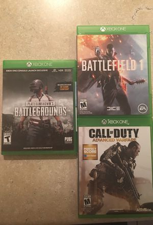 Xbox one games for Sale in Las Vegas, NV