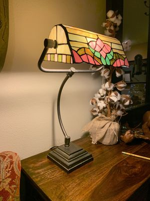 Large Sized Tiffany Look Library Lamp for Sale in Redmond, WA