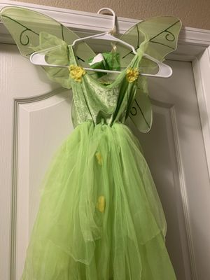 Tinker bell costume size medium. $3 for Sale in Kingsburg, CA