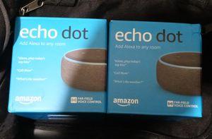 2 ECHO DOT 3RD GENERATION for Sale in Las Vegas, NV