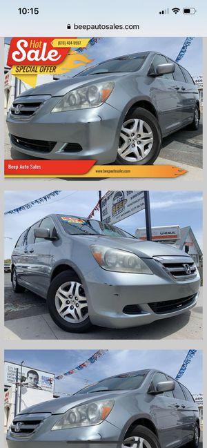 2006 Honda Odyssey MiniVan We Finance Aqui financeamos for Sale in National City, CA