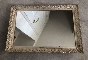 Framed Mirrored Vanity Tray for Sale in Pleasanton, CA