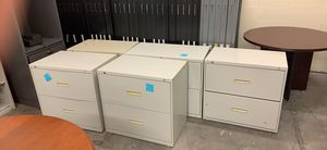 5 filing cabinets for Sale in Gaithersburg, MD
