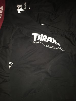Thrasher X huf collab hoodie M for Sale in Norfolk, VA