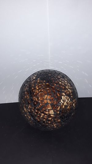 box. glass decor ball large for Sale in Slidell, LA