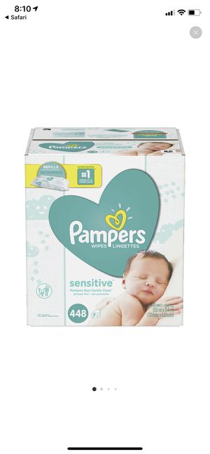 Pampers wipes 448 count for Sale in Redlands, CA
