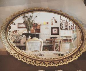 Antique oval mirror tray for Sale in Miami, FL