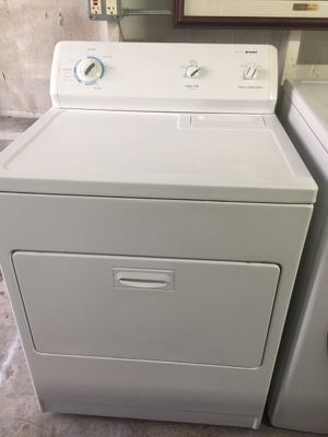 Kenmore white dryer in excellent condition plus 6 months warranty for Sale in Pompano Beach, FL