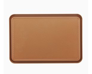 Nonstick Bakeware, Nonstick Cookie Sheet / Baking Sheet - 11 Inch x 17 Inch, Copper Brown for Sale in Houston,  TX