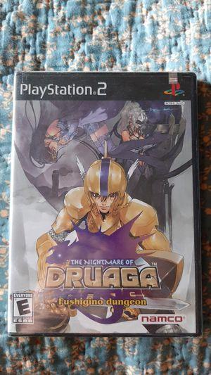 The nightmare of druaga ps2 for Sale in Warwick, RI