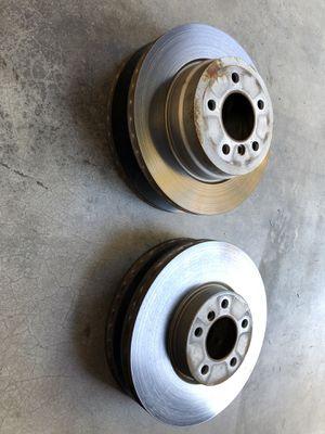Bmw x5 brake rotors oem low miles for Sale in Everett, WA