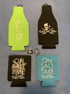Salt Life Beer Bottle & Can Coozies & Ring Bottle Openers for Sale in Federal Way, WA