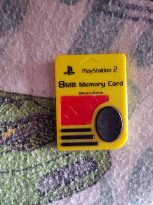 Ps2 8mb memory card for Sale in Cleveland, OH