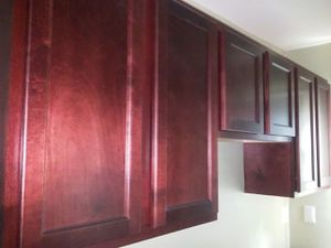 CHERRY RED OAK KITCHEN CABINETS FOR SALE for Sale in Detroit, MI