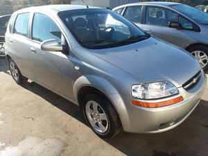 2005 Chevrolet Aveo 50k 5speed Manual Stick for Sale in Bowie, MD