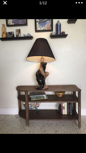 Mid Century Vintage Panther Table Lamp for Sale in Pompano Beach, FL