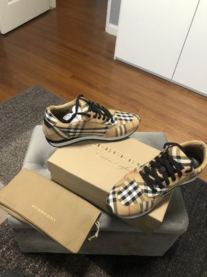 Burberry sneakers size 39.00 for Sale in Los Angeles, CA