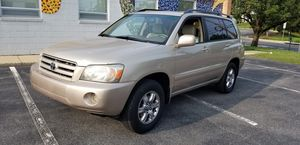 2004 Toyota Highlander AWD for Sale in Rockville, MD