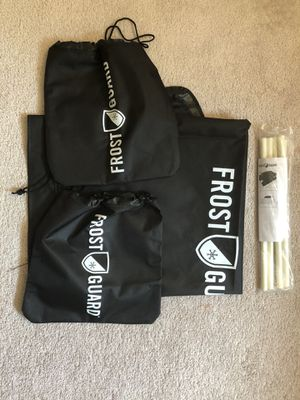 Frost guard windshield and side mirror covers- used only once for Sale in Boston, MA
