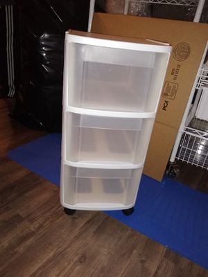 Sterilite plastic drawers for Sale in Louisville, CO