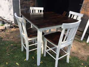 Off white country pub table set for Sale in Watsontown, PA