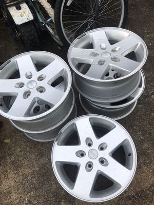 "Set of wheels 17"" for Jeep Wrangler or grand Cherokee for Sale in Lebanon, TN"