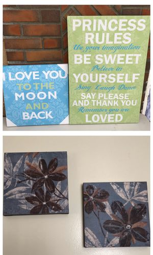 Canvas room decor frames for Sale in Avocado Heights, CA