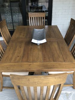 Kitchen Table and Six Chairs for Sale in Raleigh,  NC