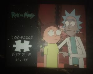 Rick and Morty puzzle for Sale in Austin, TX