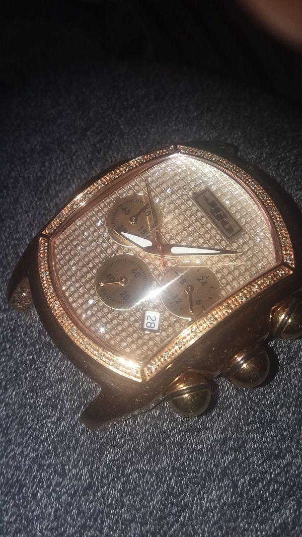 Joe rodeo real diamond watch