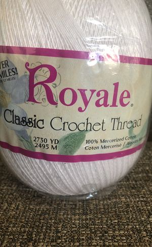 Big Ball yarn . Brand Name is Royal. Please see all the pictures and read description for Sale in Alexandria, VA