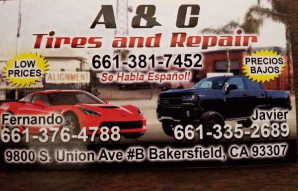 A&C tires and Repair