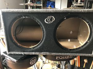 Dual 12' Kicker speaker box for Sale in Lakewood, WA
