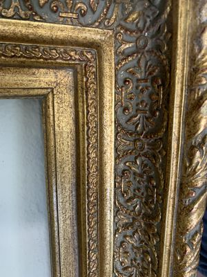 Gold painting inner frame very sturdy and good quality and condition dimensions 3x4 feet for Sale in Las Vegas, NV