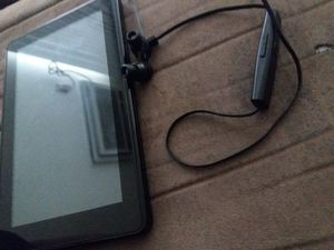 Amazon fire tablet & Ear buds for Sale in Thornton, CO