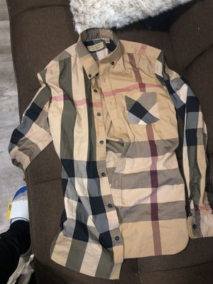 Burberry Dress Shirt for Sale in Florissant, MO